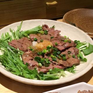 牛タンタタキ(牛タン焼専門店 司 )