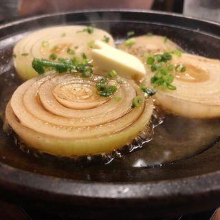 玉ねぎのガーリックバター焼き(ふじ丸 小田原駅前店 )