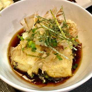 あげ出し豆腐(焼鳥はなび)