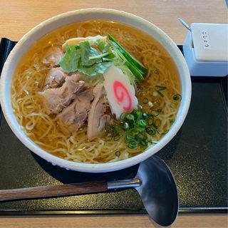 冷たい鶏らーめん(大)(山形蕎麦しゃぶ鍋 大黒 enzou (エンゾウ))