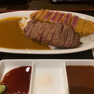 牛三昧カレー(熟成牛かつ 銀座 ぎゅう道 (ジュクセイギュウカツ ギンザ ギュウドウ))