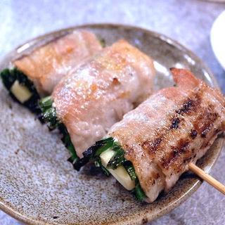 ニラチーズ肉巻き(やきとん 丈屋)