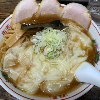 チャーシューワンタン麺大盛(支那そばはせべ)