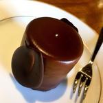 オーガニックチョコレートのムース