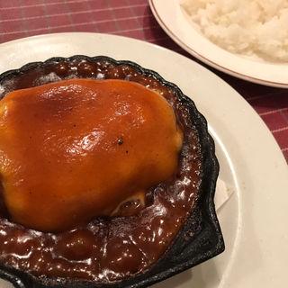 チーズバーグ(洋食キムラ 野毛店 (ヨウショクキムラ))