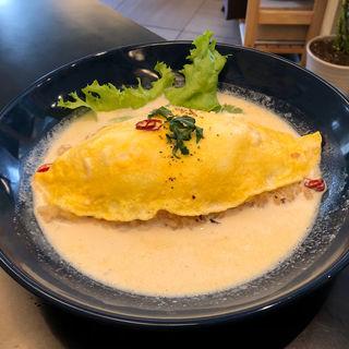 カルペペオムライス(takatsukisunrisecafe)