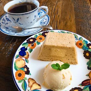 紅茶のチーズケーキ(Caffee Domenica (カフェ ドメニカ))