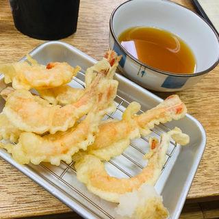 甘エビ天ぷら(大衆酒場 かど鈴)