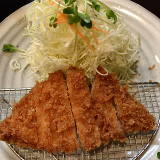 本熟ロースかつ定食120g(不二かつ 大分本店 )