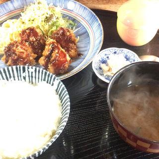 チキンカツ定食(いわまつ )