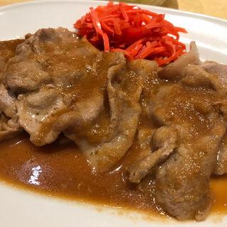 生姜キング定食 5枚(生姜キング 浅草橋本店)