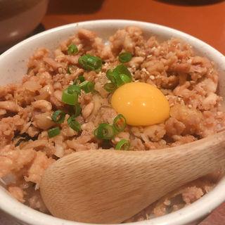 そぼろ丼(鶏繁 芝大門店 (とりしげ))