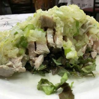 蒸し鶏(中華食堂 豊味園 )