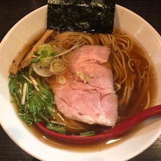 醤油ラーメン(麺処 夏海)