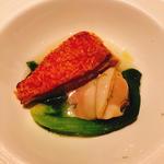 金目鯛と蛤のポワレ