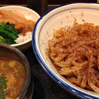 つけ全粒粉(烈志笑魚油 麺香房 三く)