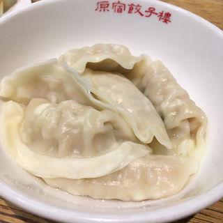 水餃子(ニラにんにく入り)(原宿餃子樓 グランツリー武蔵小杉店 )