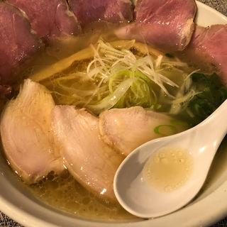 鶏白湯ラーメン