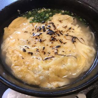 チーズ玉子とじそば(にい島 )