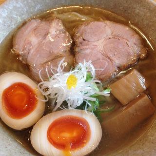 塩ラーメン(山崎麺二郎 (やまざきめんじろう 山﨑麺二郎))
