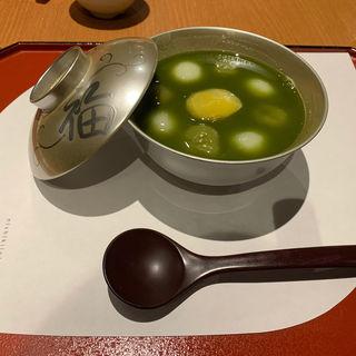 特選 抹茶おしるこ(錦一葉)