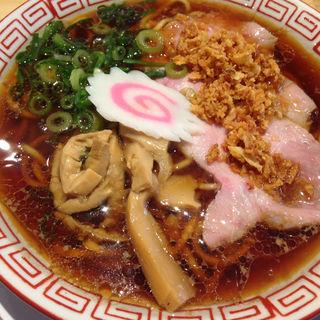 中華そば半チャーハンセット(サバ6製麺所)