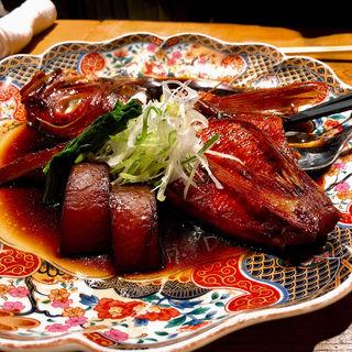 金目鯛の煮付け(館山海の物産センター 銀座船形)