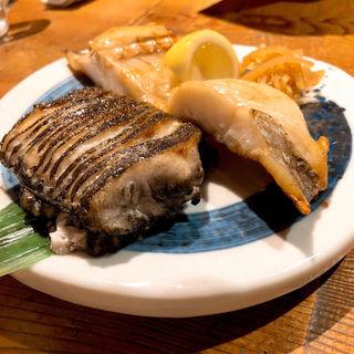 えんざらと赤魚の塩焼き(館山海の物産センター 銀座船形)