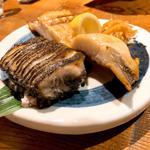 えんざらと赤魚の塩焼き
