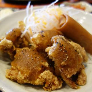 チキン唐揚げ定食(キッチンタナカ)