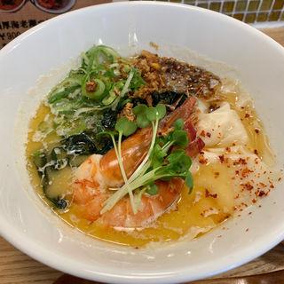 海老潮拉麺(らーめん 砦 寺田町店)