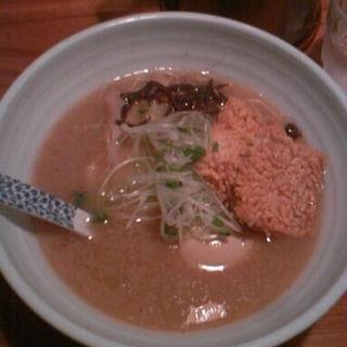 鶏とんこつラーメン(老麺 田ぶち (らーめん たぶち))