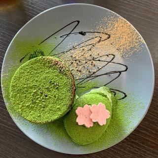 抹茶のフォンダンショコラ