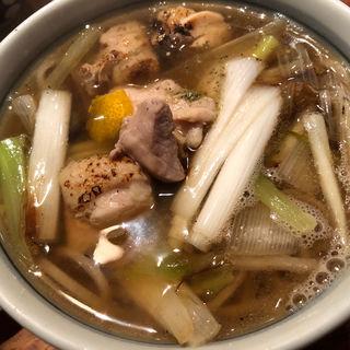 炙り鴨南そば(守破離 堂島店 (シュハリ))