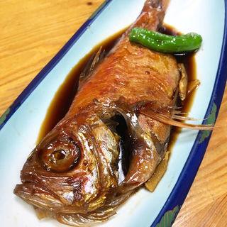 金目鯛の煮付け(はるひら丸 )