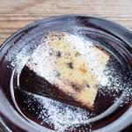 金柑とアーモンドとチョコチップのバターケーキ