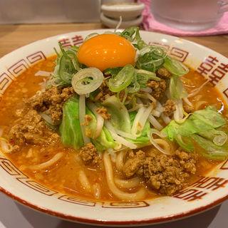キムチ納豆味噌ラーメン(新潟発祥なおじ  足立六町店)