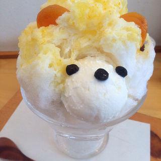 「くまちゃん」かき氷(ジャパニーズアイス櫻花)