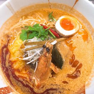 トムヤムクン風担々麺(さわだの担々麺)