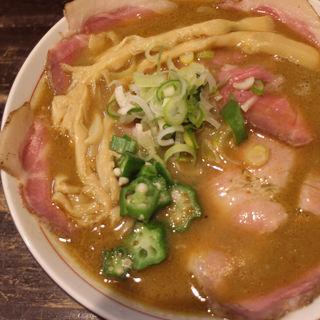 カリーチャーシュー麺(ラーメン屋 切田製麺)