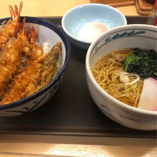 大江戸天丼とラーメン(天丼 てんや)