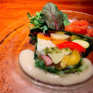 旬野菜のスペシャルテリーヌ(ぽつらぽつら )