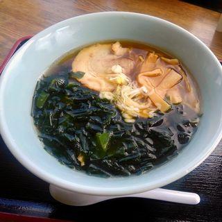三陸産ワカメラーメン(レストラン フロール )