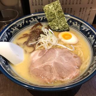 豚骨塩ラーメン(らーめん豊樹)