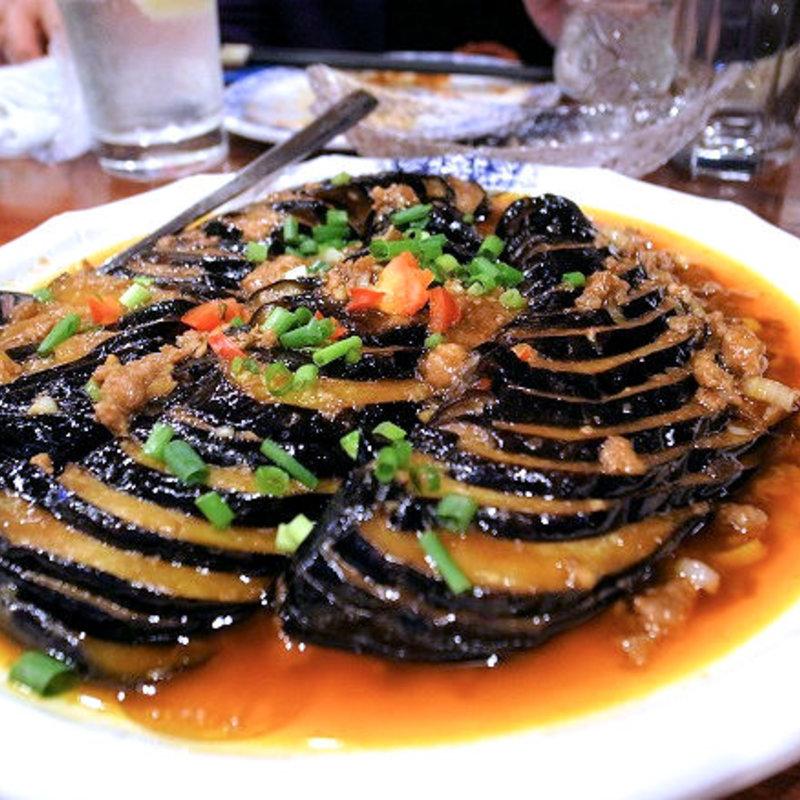 肉沫扒茄子(牛挽き肉とナス甘味噌炒め)