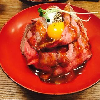 ローストビーフ丼(グリル異人館 )