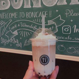 天使のクリームタピオカミルクティー(ボンカフェ 栄店 (BON CAFE))