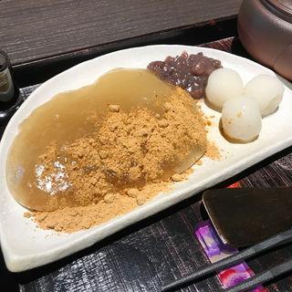 わらび餅(茶寮翠泉 烏丸御池店 (サリョウスイセン))