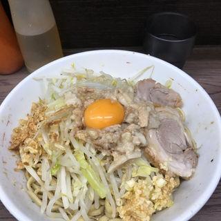 汁なし(ラーメン二郎 横浜関内店 (らーめんじろう))