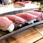 肉寿司(肉寿司 恵比寿横丁店 (にくずし))